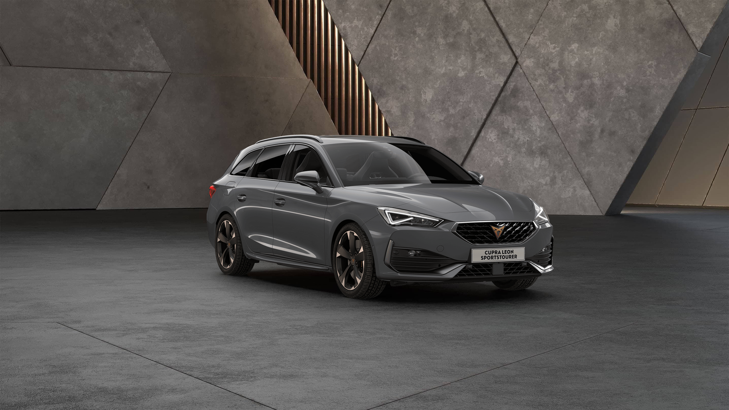 Cupra Leon Kombi in Graphene Grey